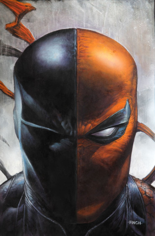 Deathstroke #45 (Card Stock The Offer Cover)