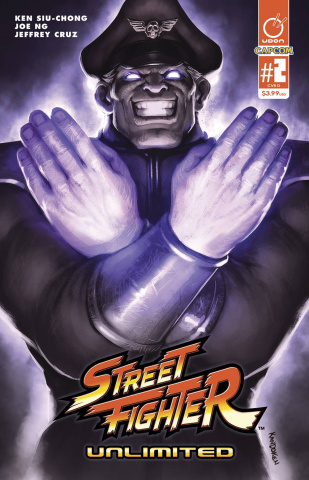 Street Fighter Unlimited #2 (20 Copy SFV Game Cover)