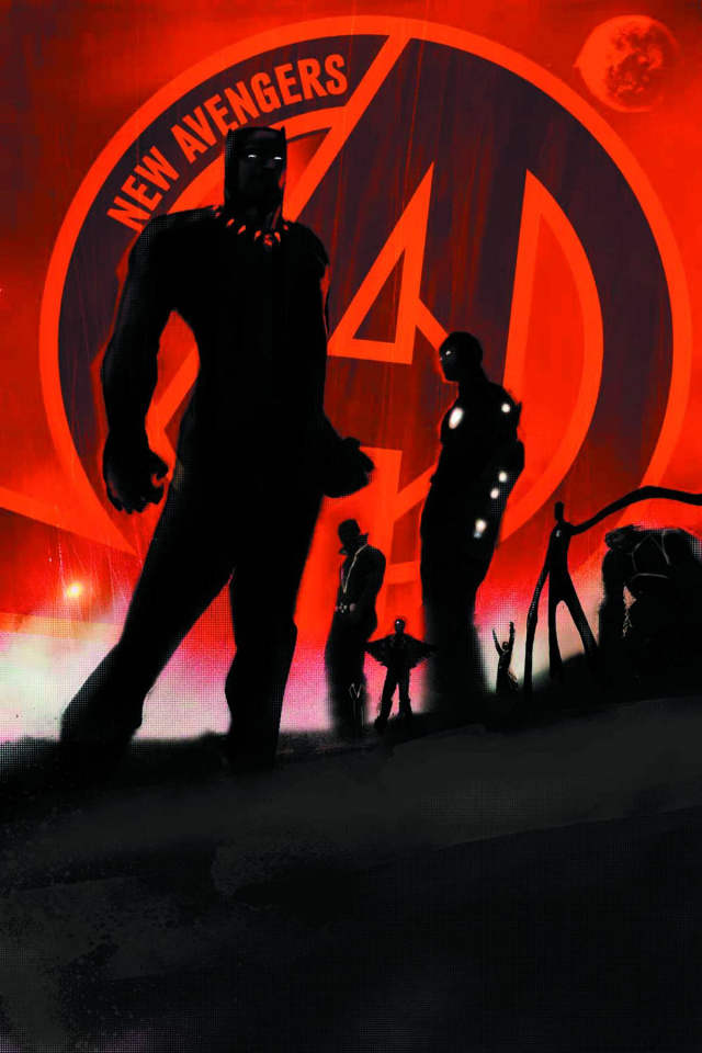 New Avengers #1 (2nd Printing)