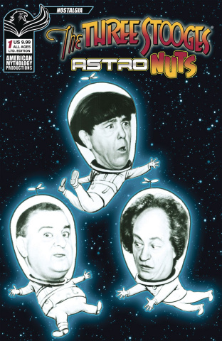 The Three Stooges: Astro Nuts #1 (Photo B&W Cover)