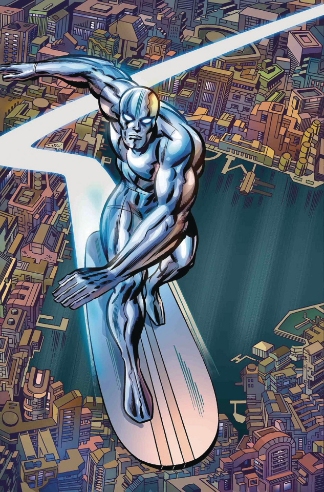 Silver Surfer #14 (Kirby Cover)