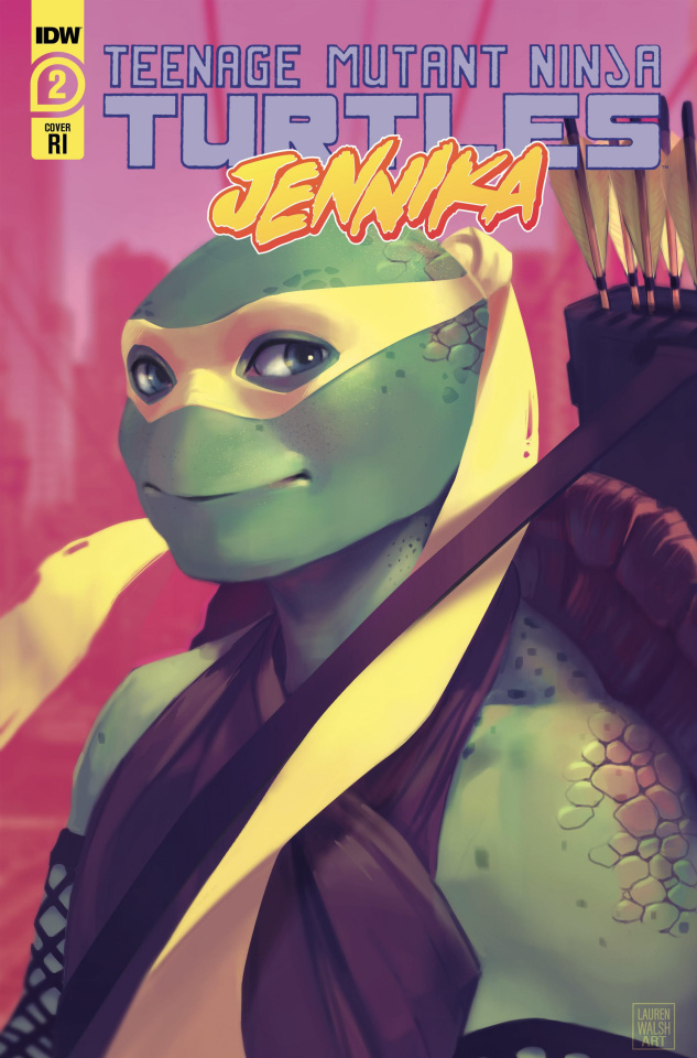Teenage Mutant Ninja Turtles: Jennika #2 (10 Copy Walsh Cover)
