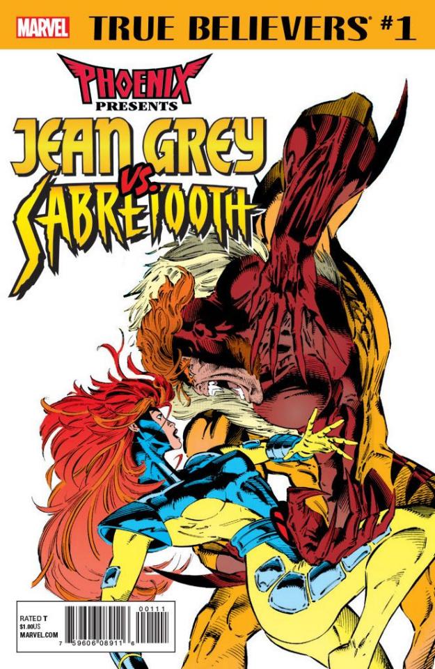 Phoenix Presents: Jean Grey vs. Sabretooth #1 (True Believers)