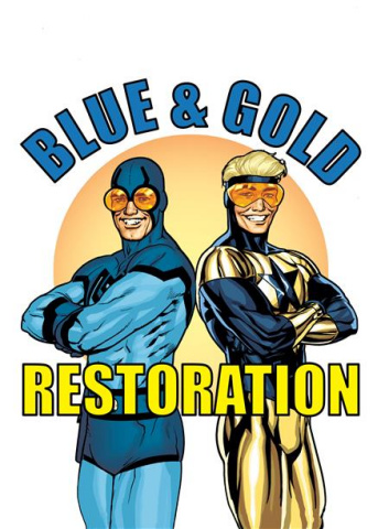 Blue & Gold #4