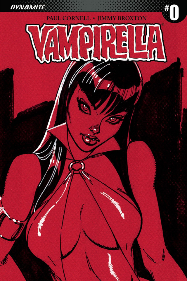 Vampirella #0 (100 Copy Campbell Sneak Peek Cover)