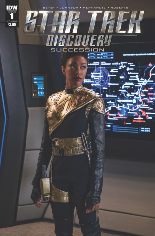 Star Trek: Discovery - Succession #1 (Photo Cover)