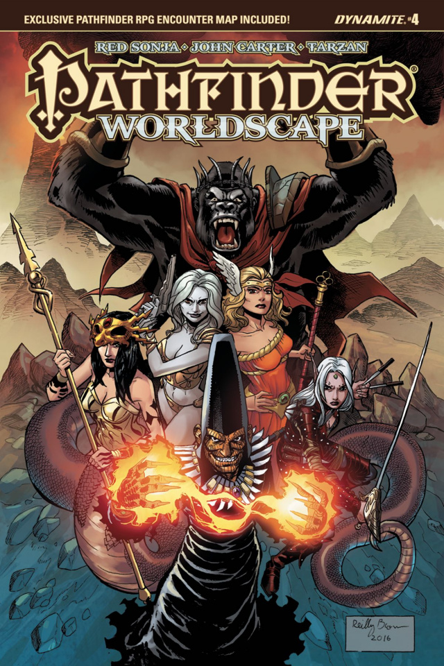 Pathfinder: Worldscape #4 (Brown Cover)