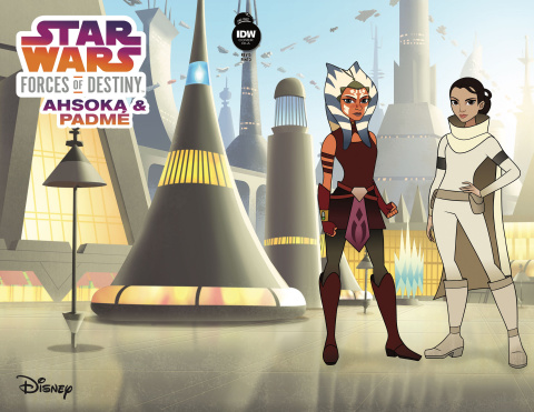 Star Wars Adventures: Forces Of Destiny - Ahsoka & Padmé (10 Copy Cover)