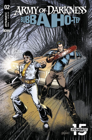 Army of Darkness / Bubba Ho-Tep #2 (Mandrake Cover)
