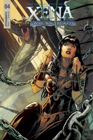 Xena #4 (Cifuentes Cover)