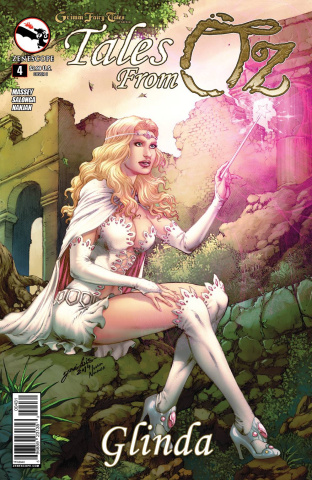 Grimm Fairy Tales: Tales From Oz #4 (Luis Cover)