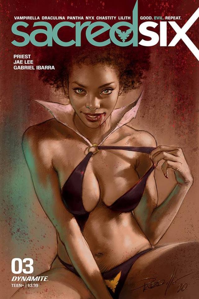Sacred Six #3 (Parillo Cover)