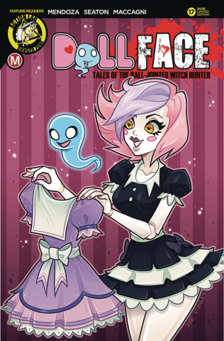 Dollface #17 (Stanley Pin Up Cover)