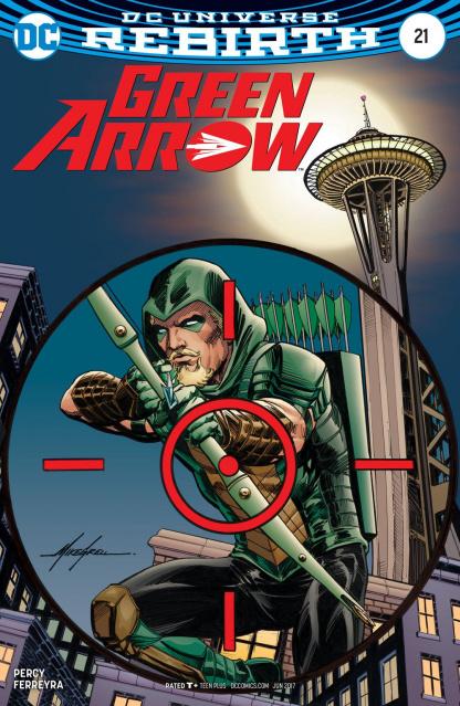 Green Arrow #21 (Variant Cover)