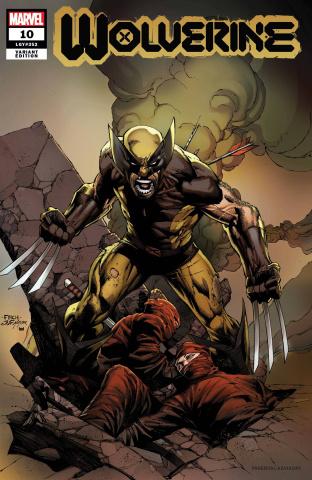 Wolverine #10 (Finch Wolverine Cover)