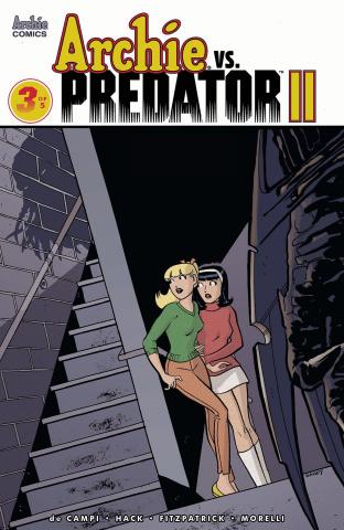Archie vs. Predator II #3 (Jarrell Cover)