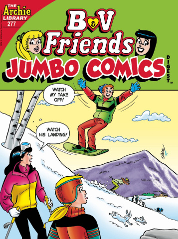 B & V Friends Jumbo Comics Digest #277