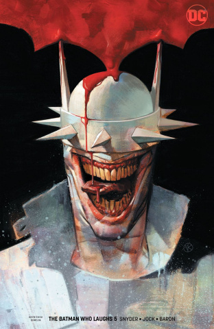 The Batman Who Laughs #5 (Variant Cover)