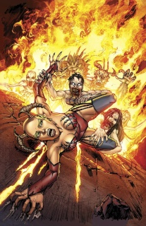 Grimm Fairy Tales: Inferno - The Rings of Hell #2 (Leister Cover)