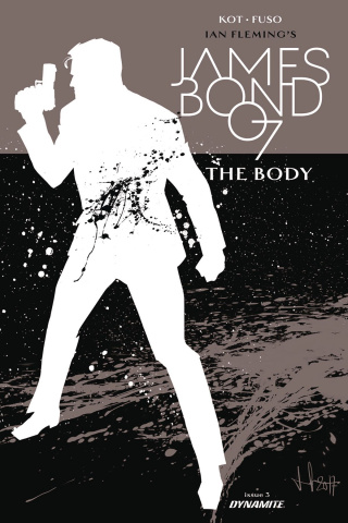 James Bond: The Body #3 (10 Copy Casalanguida B&W Cover)
