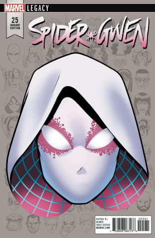 Spider-Gwen #25 (McKone Legacy Headshot Cover)