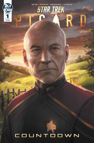 Star Trek: Picard - Countdown #1 (25 Copy Pitre-Durocher Cover)