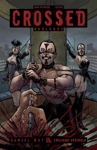 Crossed: Badlands #49 (Torture Cover)
