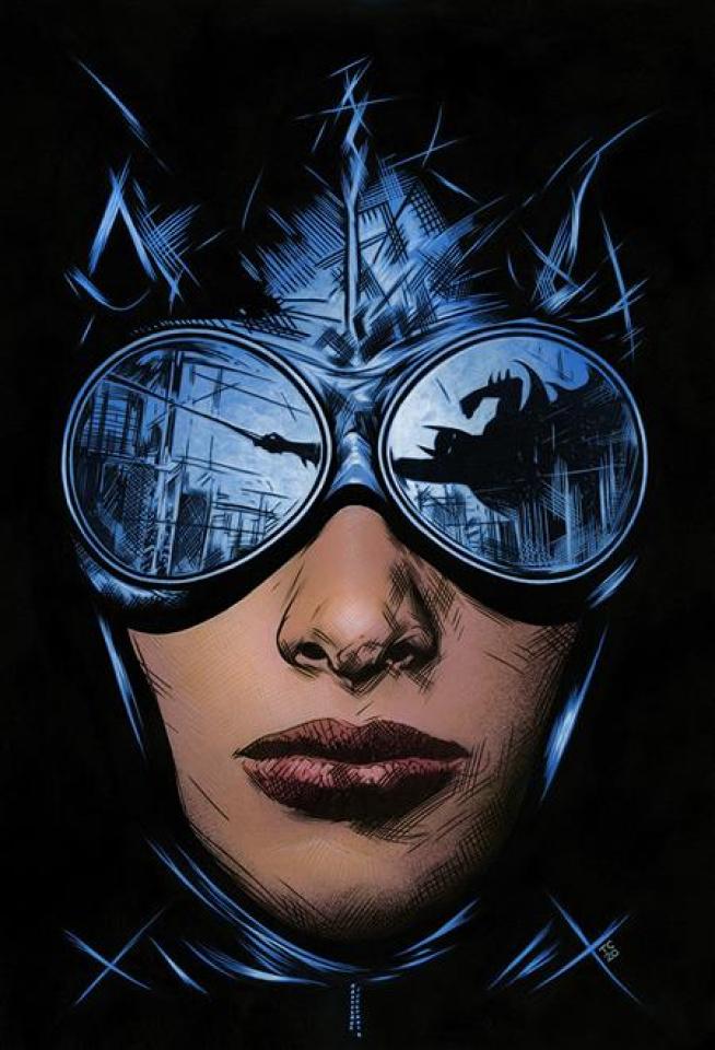 Batman / Catwoman #3 (Travis Charest Cover)