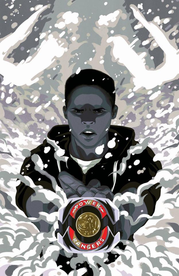 Mighty Morphin' Power Rangers #12 (25 Copy Montes Morph Cover)