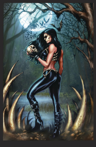Grimm Fairy Tales: Day of the Dead #3 (Luis Cover)