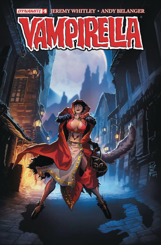 Vampirella #9 (Tan Cover)