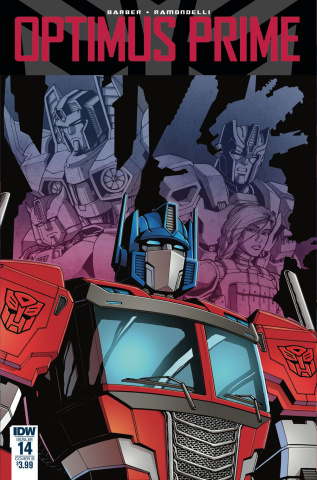 Optimus Prime #14 (Coller Cover)