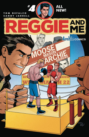 Reggie and Me #4 (Sandy Jarrell Cover)
