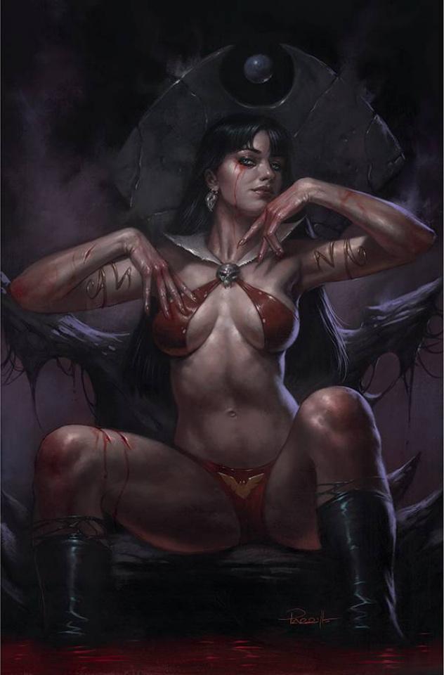 Vengeance of Vampirella #18 (Parrillo Virgin Cover)