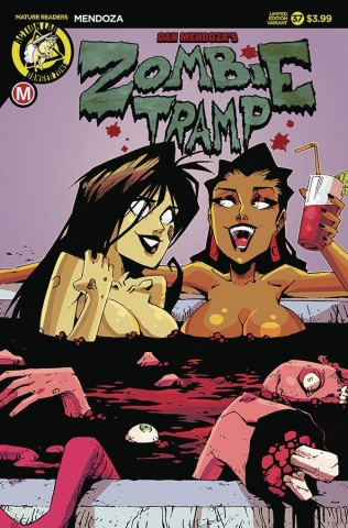 Zombie Tramp #37 (Blood Tub Cover)