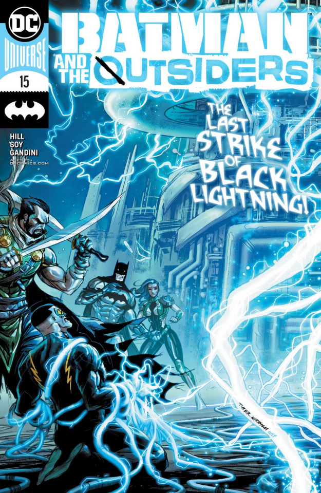 Batman and the Outsiders #15 (Tyler Kirkham Cover)