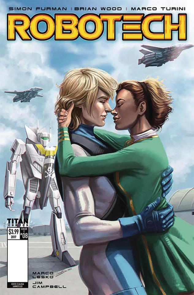 Robotech #8 (Ianniciello Cover)
