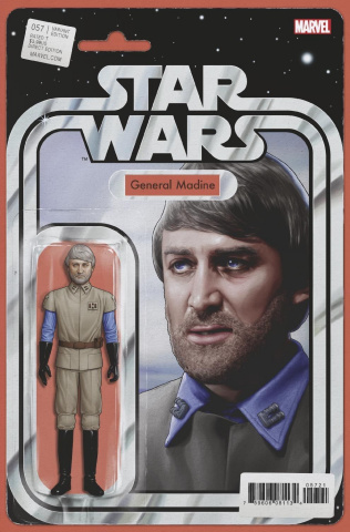 Star Wars #57 (Christopher Action Figure Cover)
