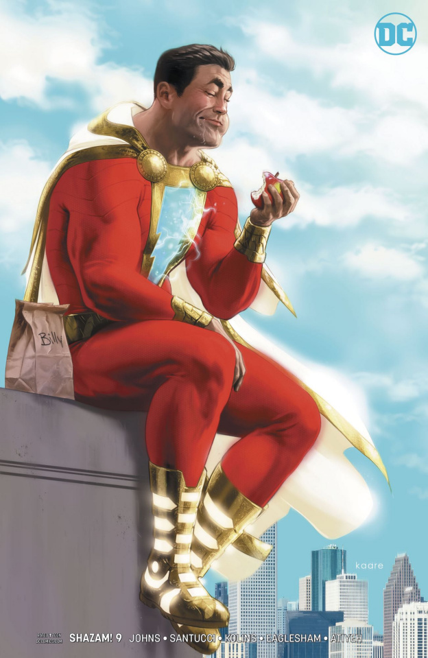 Shazam! #9 (Variant Cover)