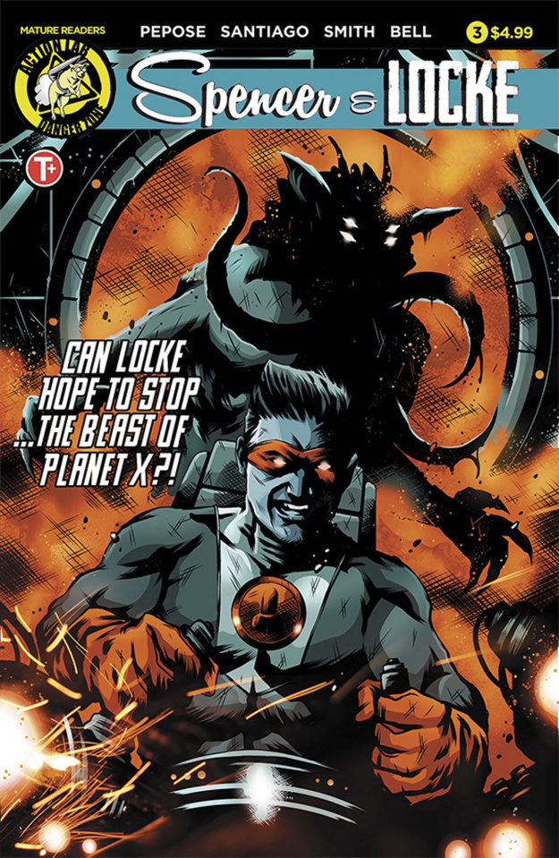Spencer & Locke #3 (House Cover)