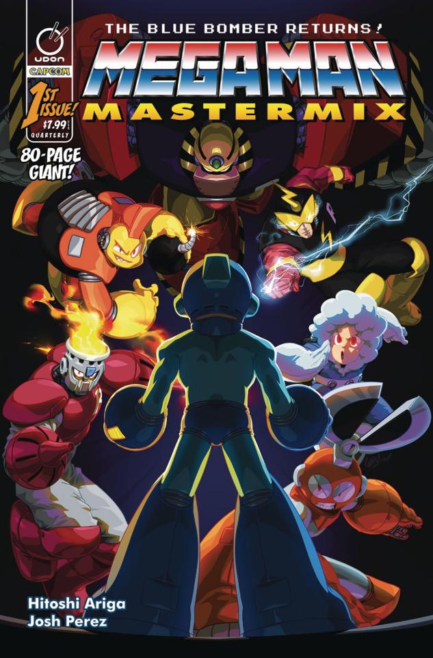 Mega Man: Mastermix #1 (Cruz Cover)