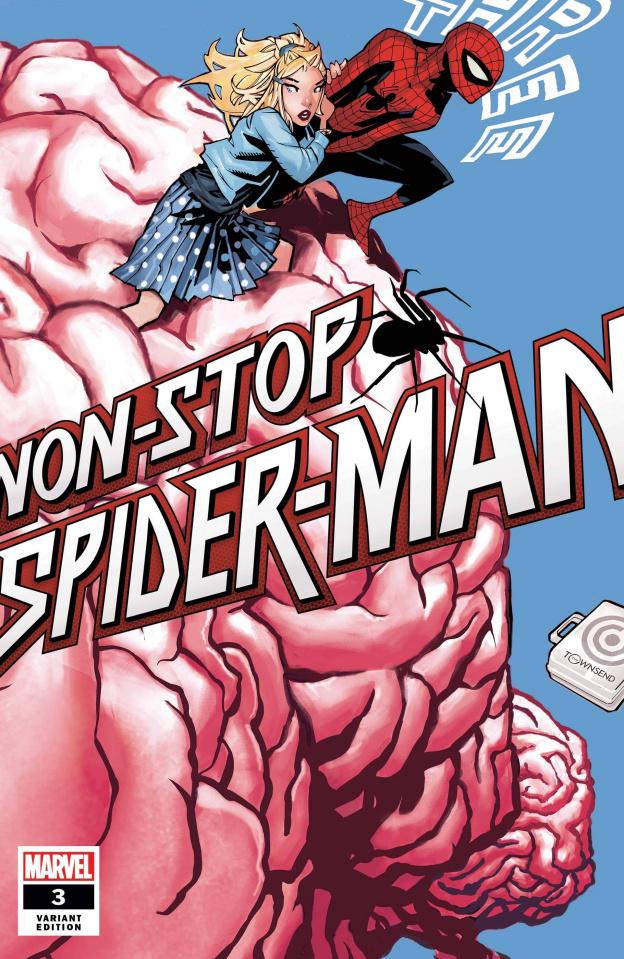 Non-Stop Spider-Man #3 (Bachalo Cover)