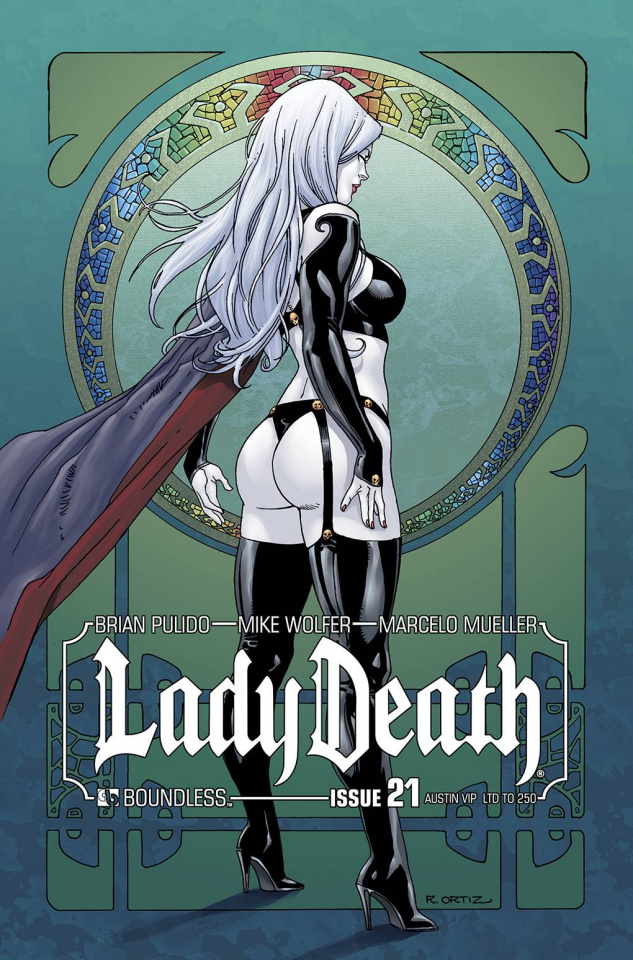 Lady Death #21 (Austin VIP Cover)