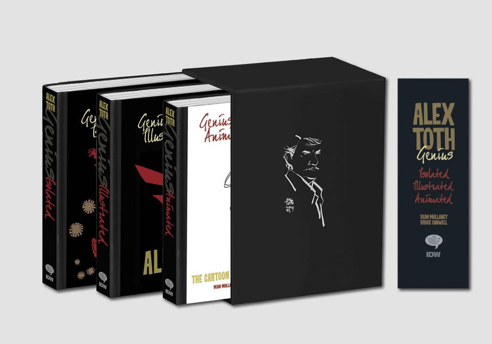 Genius Collected: Alex Toth Slipcase Set