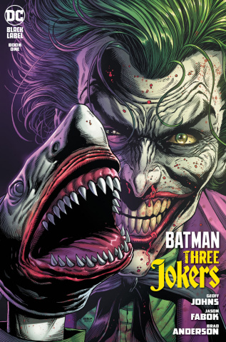 Batman: Three Jokers #1 (Joker Shark 2nd Printing)