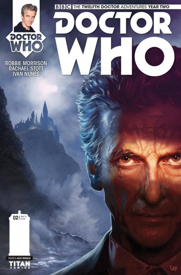 Doctor Who: New Adventures with the Twelfth Doctor, Year Two #2 (Ronald Cover)