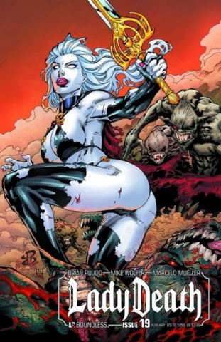Lady Death #19 (Auxiliary Cover)