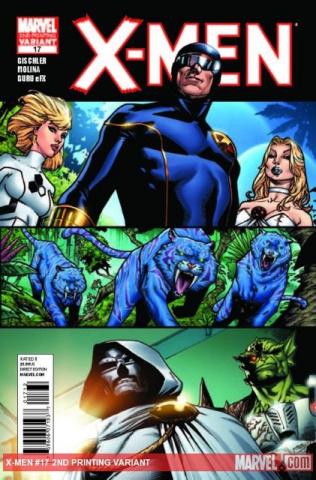 X-Men #17 (2nd Printing)
