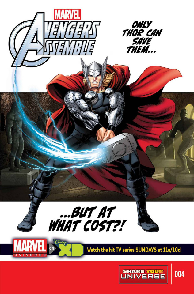 Marvel Universe: Avengers Assemble #4