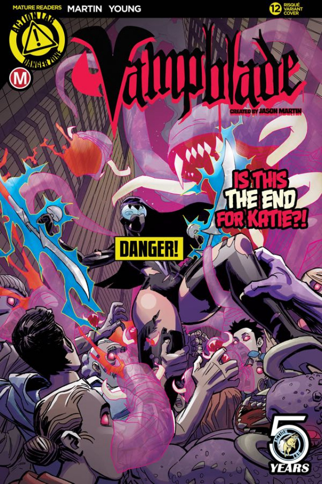 Vampblade #12 (Winston Young Risque Cover)